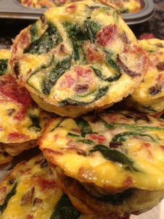 Craving Something Good: Breakfast on the go: Easy Omelet Muffins