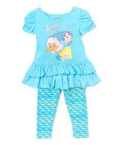 blue bubble guppies tunic u0026 leggings infant u0026 toddler