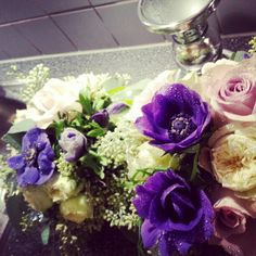 Purple and blue - i love you