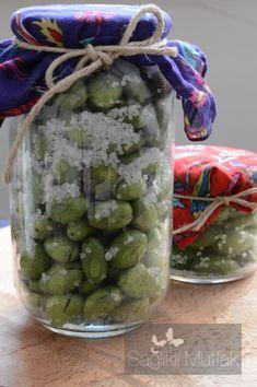 Ev Yapımı Kırma Yeşil Zeytin – Sağlıklı Mutfak
