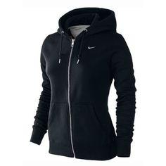Nike Women's Classic Fleece Zip Up Ho…