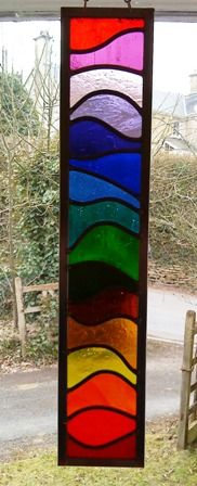 Stained glass or use fabric and make at least three different things