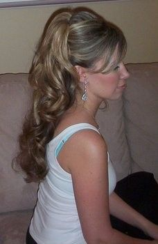 Wedding Hair! Would love this!