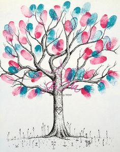Svatební strom Denisa&Petr A3