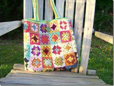 Granny's square bag