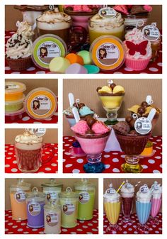 Wicked Soy Candles & Melts, Realistic Cafe Soy Candles... Hand Piped Cupcakes, Ice-Cream Sundae's, Milkshakes, Cappuccino's etc... Award win...