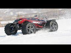 Traxxas E Revo VXL in Colorado Ice & Snow
