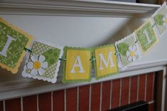 Daisy Banner I am 1 Banner Highchair Banner I am 1 by GiggleBees, $16.00