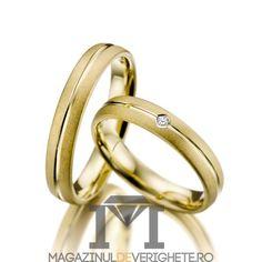 verighete aur galben MDV1095 #verighete #verighete3mm #verigheteaur #verigheteaurgalben #magazinuldeverighete 50 Euro, Bangles, Bracelets, Diamond Wedding Rings, Gold Rings, Rose Gold, Jewelry, Crystal, Diamond