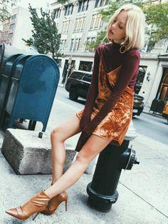 How To Wear: Slip Dress in Fall!