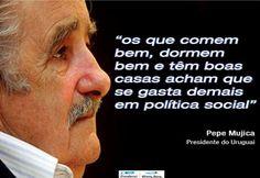 Por Dentro... em Rosa: Belo vídeo de Pepe Mujica na UERJ