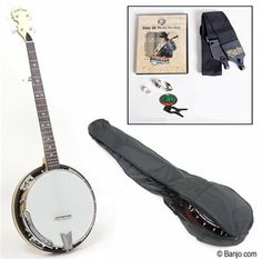 "Gold Tone Cripple Creek 100R 5-String Banjo with Starter Pack by Gold Tone. $487.00. See and hear this instrument Click Here The CC-100R with starter pack makes a great gift for the bluegrass banjo-player-to-be in your life! Never before has an entry level banjo included the features and tone of the CC-100R. Check any competitive banjo in this price range and you'll find ""more bang for the buck"" with the Cripple Creek. We recommend .020-gauge fingerpicks for beginners. No..."