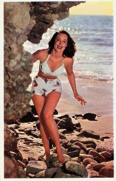 maillots de bain des annees 40 et 50 52   Maillots de bain des années 40 et 50   vintage pin up photo maillot de bain image années 50 années 40