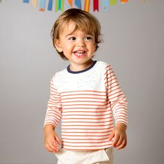 SALE off Boys tee t-shirt with stripes and small blue birds Baby Boy Fashion, Kids Fashion, Classic Outfits, Red Stripes, Boys T Shirts, Business Fashion, Blue Bird, Baby Boy Outfits, Tees