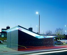 Gravesend public toilets by Plastik Architects - Dezeen Architecture Model Making, Public Architecture, Green Architecture, Architecture Design, Washroom Design, Toilet Design, Aberdeen Park, Wc Public, Toilet Plan
