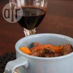 Photo recette : Ragoût de bœuf en cocotte-minute