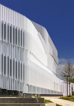 WAN:: Hunt Library by Snohetta in Raleigh, North Carolina