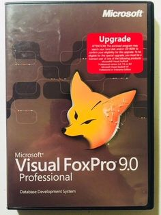 Microsoft Visual FoxPro 9.0 Upgrade For Windows (CD w/Product Key) COMPLETE *LN* Windows Cd, Programing Software, Microsoft, Key, Unique Key