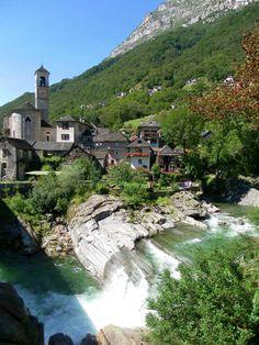 Lavertezzo Valle Verzasca Ticino