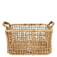 Hyacinth Large Rectangular Basket