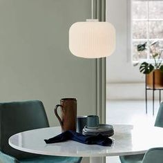 Nordlux Milford Frosted Glass Pendant Light - Lampsy