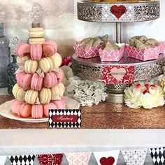 A dessert table fit for a queen #dessert #buffet