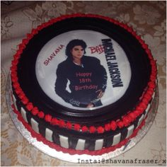 Pleasing 43 Best The Michael Jackson Cake Images Michael Jackson Cake Personalised Birthday Cards Cominlily Jamesorg