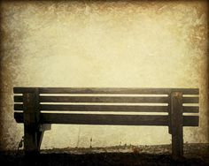 Abstract Old Park Antique Glowing Bench 8 x 10 Watercolor Water Color Print 5 Picture Wall Abandoned Photograph Photo Enchanting Brown Tan by Concepts2Canvas on Etsy