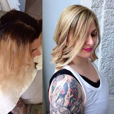 Blonde Correct  #balayage #blonde #hair #haircolor #hairstyle #parrucchiere #capelli #goldwell