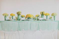 mint and lemonade by Jesi Haack via Martha Stewart Weddings