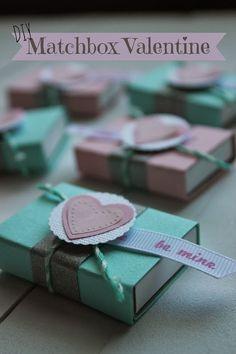 DIY Matchbox Valentine by DIY Louisville