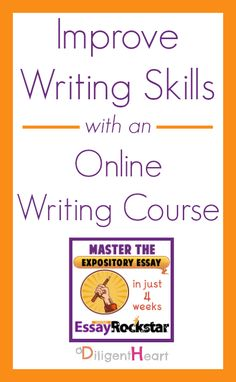 Improve Writing Skills with an Online Writing Course from @lilyiatridis #homeschool #writing