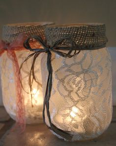 DIY Jar luminaries - DIY Jar Ideas. Easy and Cheap Decorations