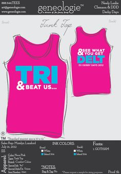 TRI and beat us, and see what you get DELT