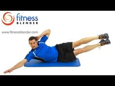 20 Minute Home Abdominal Workout - Fitness Blender Ab and Oblique Exercises