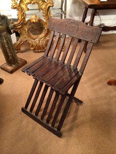 Italian Renaissance Folding Chair