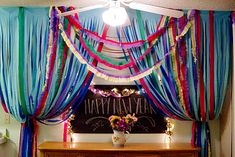 Party Decorating with Disposable Plastic Tablecloths