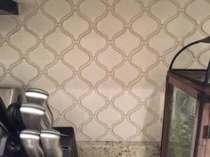 MS International Bianco Arabesque 9.84 in. x 10.63 in. x 6 mm Glazed Ceramic Mesh-Mounted Mosaic Tile PT-BIANCO-ARABE at The Home Depot - Mobile