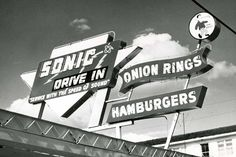 Sonic, nice sign. I desperately need some onion rings :-)