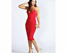 boohoo Karen Slinky Bodycon Midi Dress - red azz36007 Slink your way to the dance floor in this sultry be- mine bodycon dress . Stay simply stylish in strappy heels , a statement collar necklace and enviable envelope clutch . http://www.comparestoreprices.co.uk/dresses/boohoo-karen-slinky-bodycon-midi-dress--red-azz36007.asp