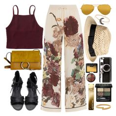 """""""Free Your Mind"""" by monmondefou ❤ liked on Polyvore featuring Valentino, Aéropostale, Ray-Ban, Casetify, Gucci, NARS Cosmetics, Michael Kors, Vita Fede and Boohoo"""