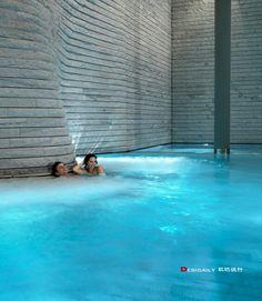 high origami architekturhallenbderschwimmbderspashotelsihr schnes zuhausezentrumarosaluxury accommodation - Spa Und Wellness Zentren Kreative Architektur