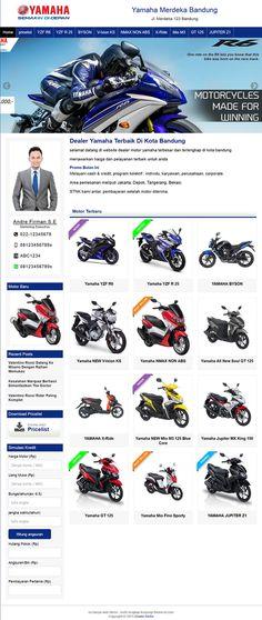 Jasa Pembuatan Website Sales Motor I Jasa Website Dealer Motor Website