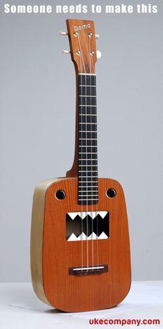 Grrr this Ukulele Bites... a cool novelty... would you play one? Visit http://theukuleletradingcoaustralia.blogspot.com.au/