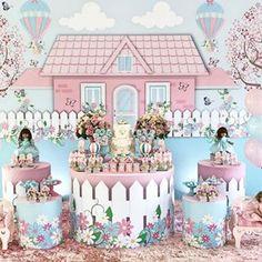 Monalisa Morais (@festejandoemcasaoficial) • Fotos e vídeos do Instagram Kids Party Themes, Birthday Party Themes, Fairytale Party, Butterfly Party, Festa Party, Baby Birthday, Birthday Decorations, Event Decor, First Birthdays