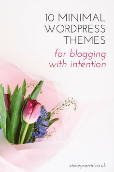 10 Minimal WordPress Themes for Blogging With Intention