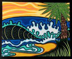 Shore Break by lesliebaylinson on Etsy