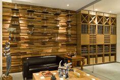 Pareti in legno di design n.14