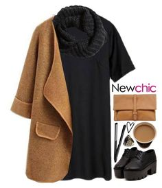 """NC 1"" by emilypondng ❤ liked on Polyvore featuring H&M, MM6 Maison Margiela and newchic"