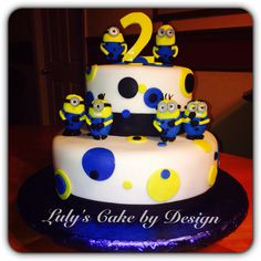 Despicable me minions birthday cake